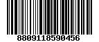 Mã Barcode Thái cực sâm củ khô 600gram