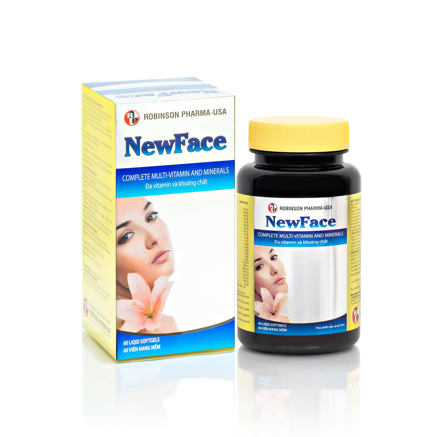 Newface - Complete Multi-Vitamin and Minerals